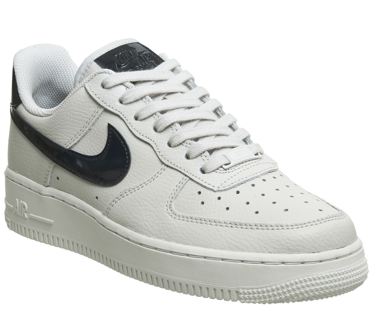 new products 01845 3ce54 Nike Air Force 1 07 Trainers Vast Grey Obsidian - Hers trainers