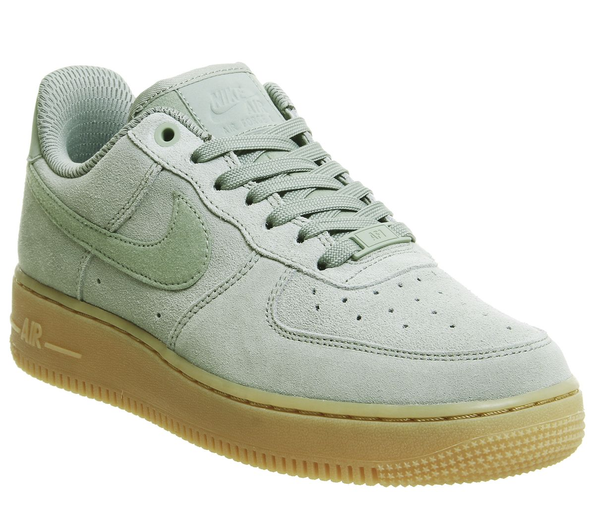 online store bd11b 10676 Nike Air Force 1 07 Trainers Mica Green Gum - Hers trainers