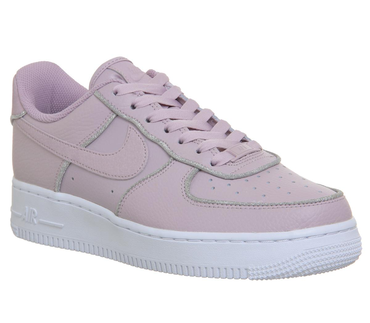 Nike Air Force 1 07 Trainers Particle Rose Glitter - Sneaker damen