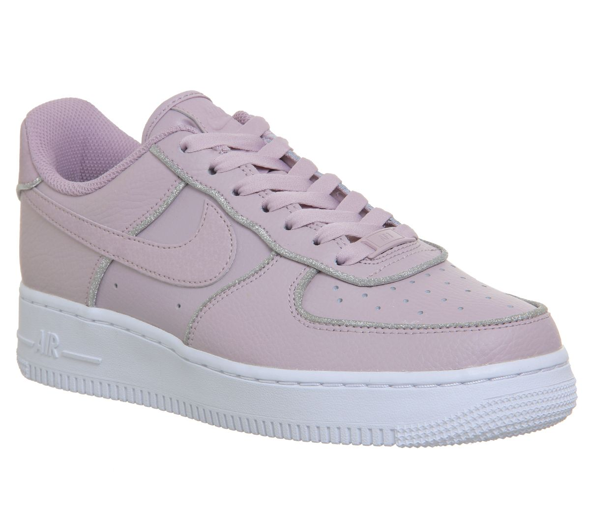 97f7e3f6e9 Nike Air Force 1 07 Trainers Particle Rose Glitter - Hers trainers