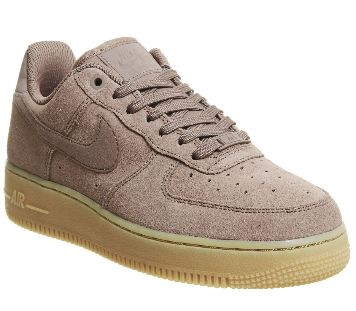 5d1cb748a4 Nike Air Force 1 07 Trainers Smokey Mauve Gum - Hers trainers