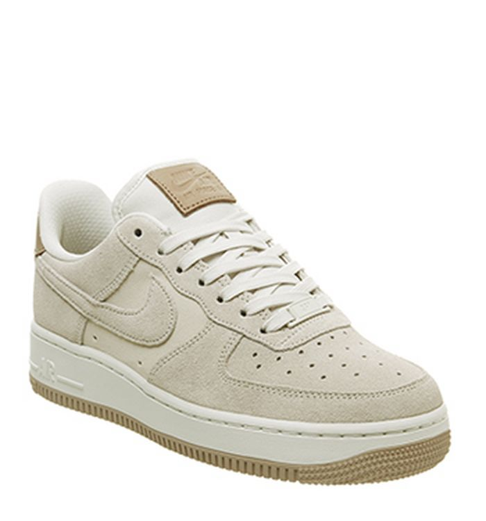 official photos 46cd9 ada84 Quickbuy. 30-01-2019 · Nike Air Force 1 07 Trainers Pale Ivory Summit White  Vachetta Tan. £79.99