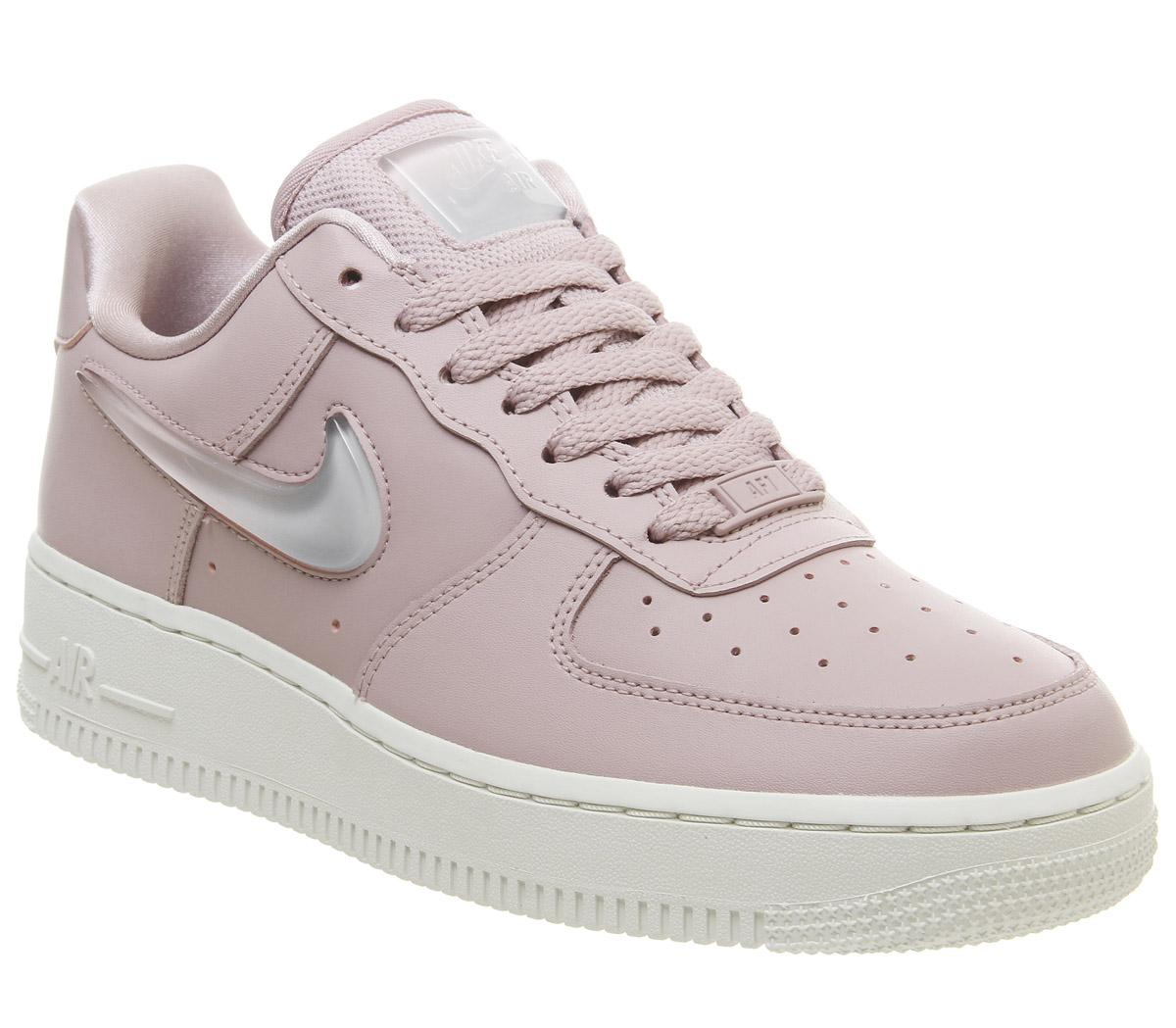 Nike Air Force 1 Plum Chalk Metallic Luster | HYPEBAE