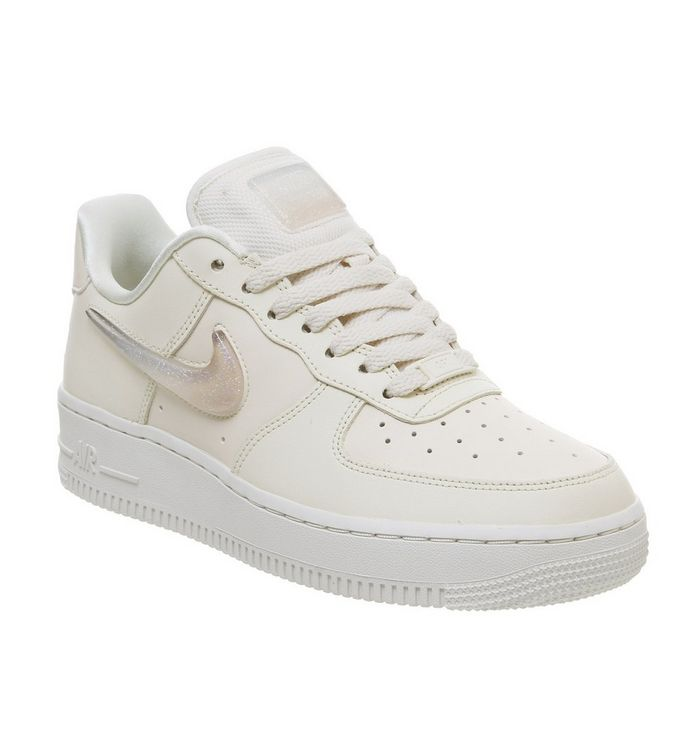 newest 34475 b902c ... Nike, Air Force 1 07 Trainers, Pale Ivory Summit White Guava Ice ...