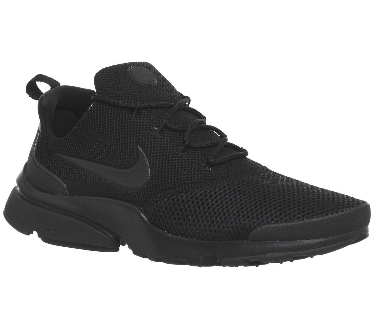 d0cc45f6ff15 Nike Presto Fly Trainers Triple Black - His trainers