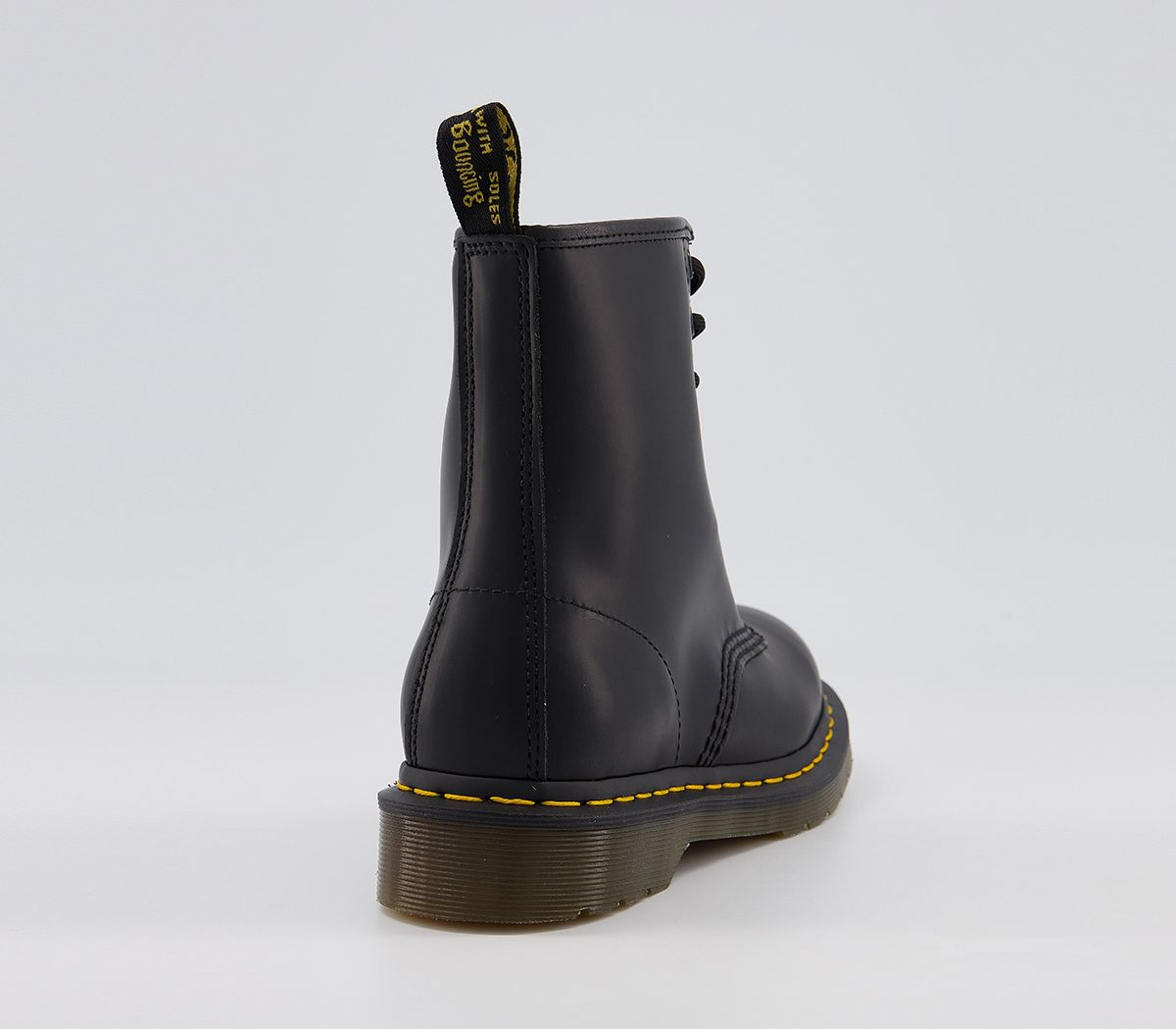 fc16a1a47a21 Dr. Martens 8 Eyelet Lace Up Boots Black - Ankle Boots