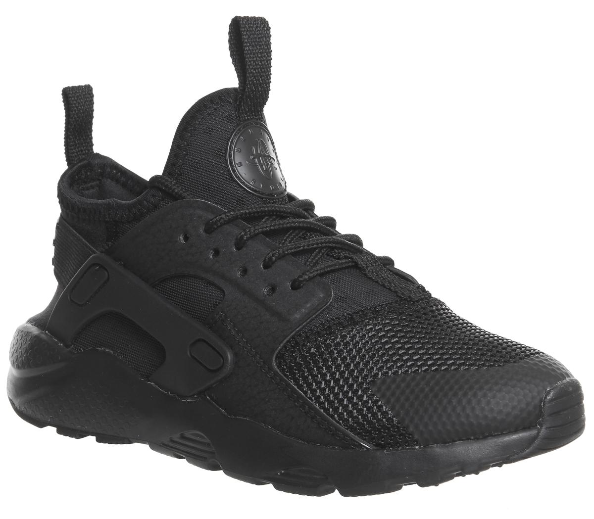 b25f7c10674 Nike Huarache Run Ultra Ps Trainers Black - Unisex