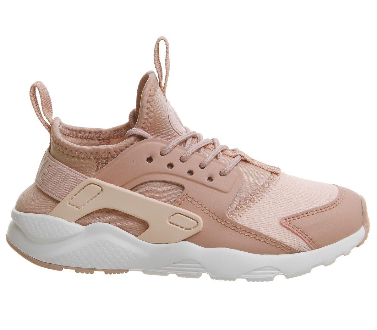 f5768fbcba372 Nike Huarache Run Ultra Ps Trainers Rust Pink Storm Pink - Unisex