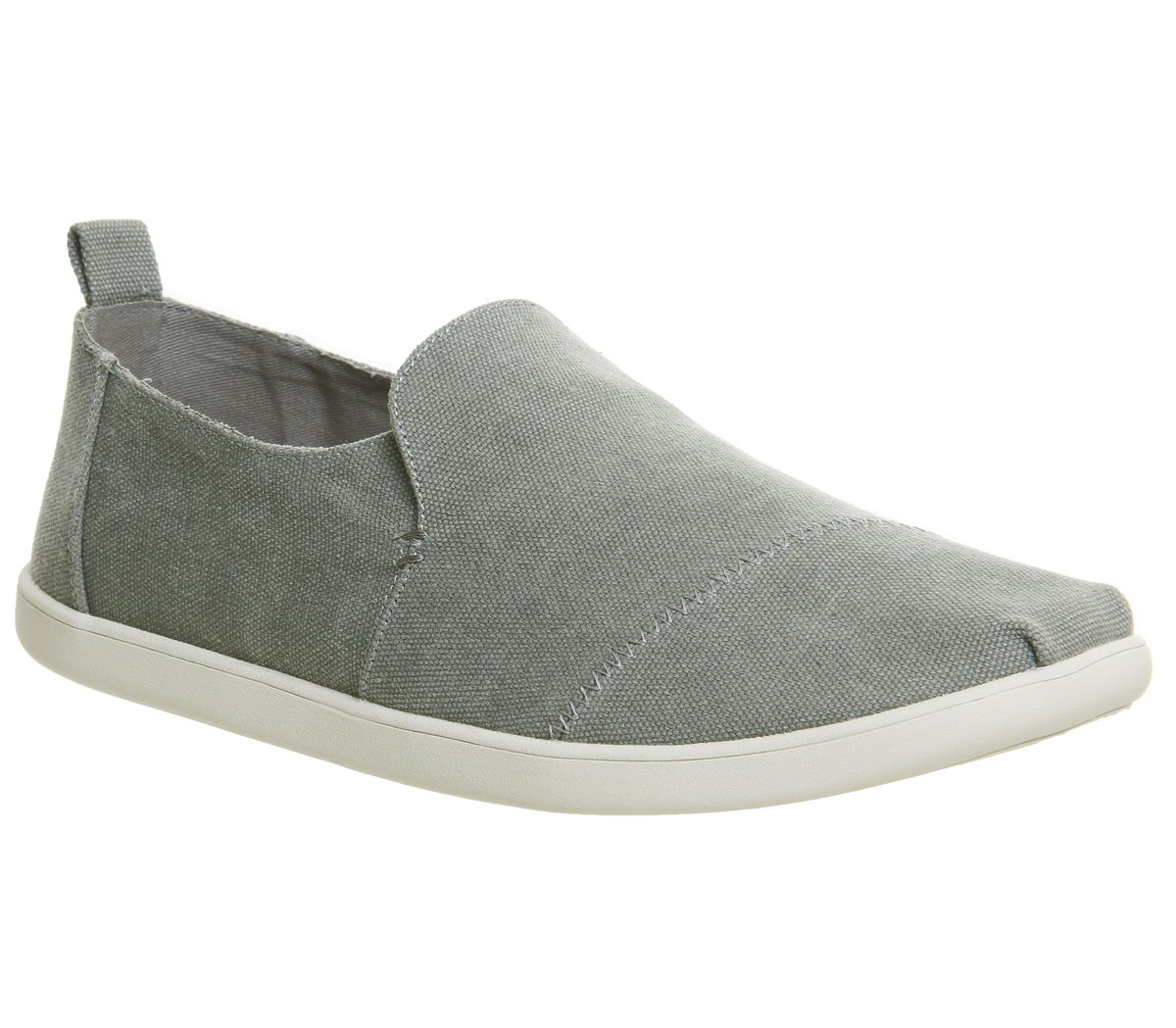b48a1a74113 Toms Alpargata Deconstructed Drizzle Grey Washed Canvas - Casual