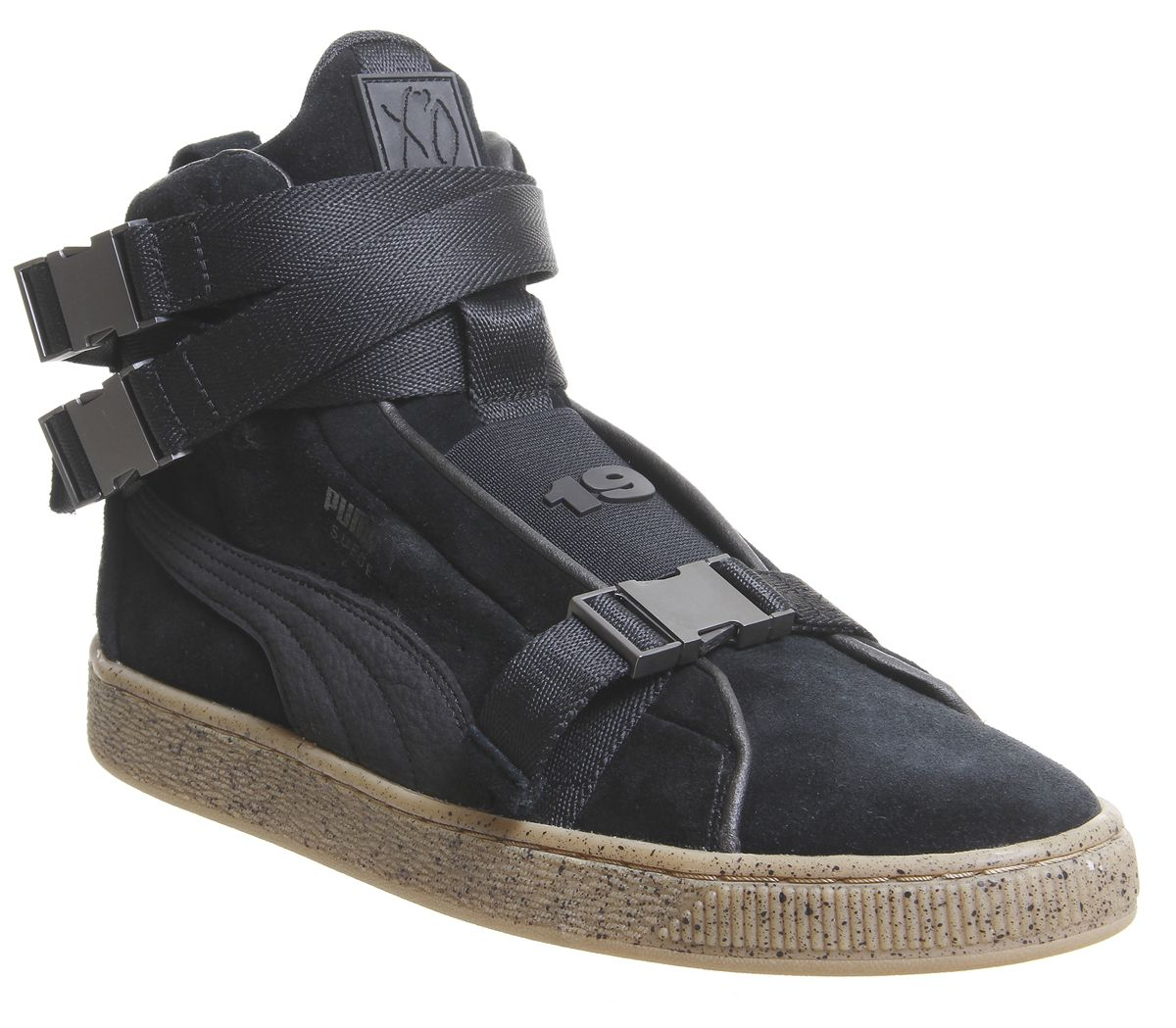 hot sale online c624d 895ff Puma Suede Classic Trainers The Weeknd Black Black - His trainers
