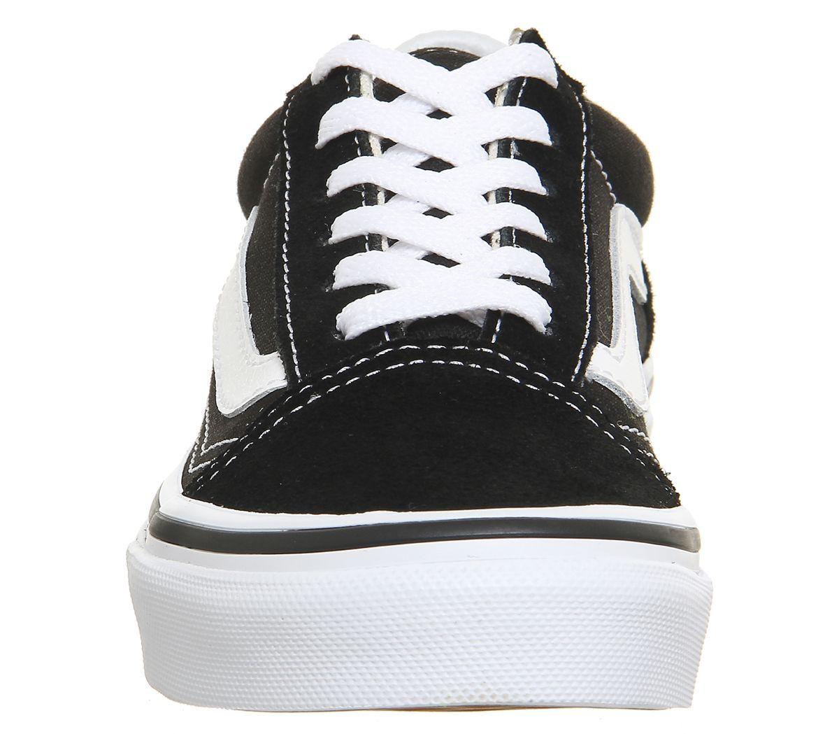 ada1639754bc6 Vans Old Skool Lace K Black True White - Unisex