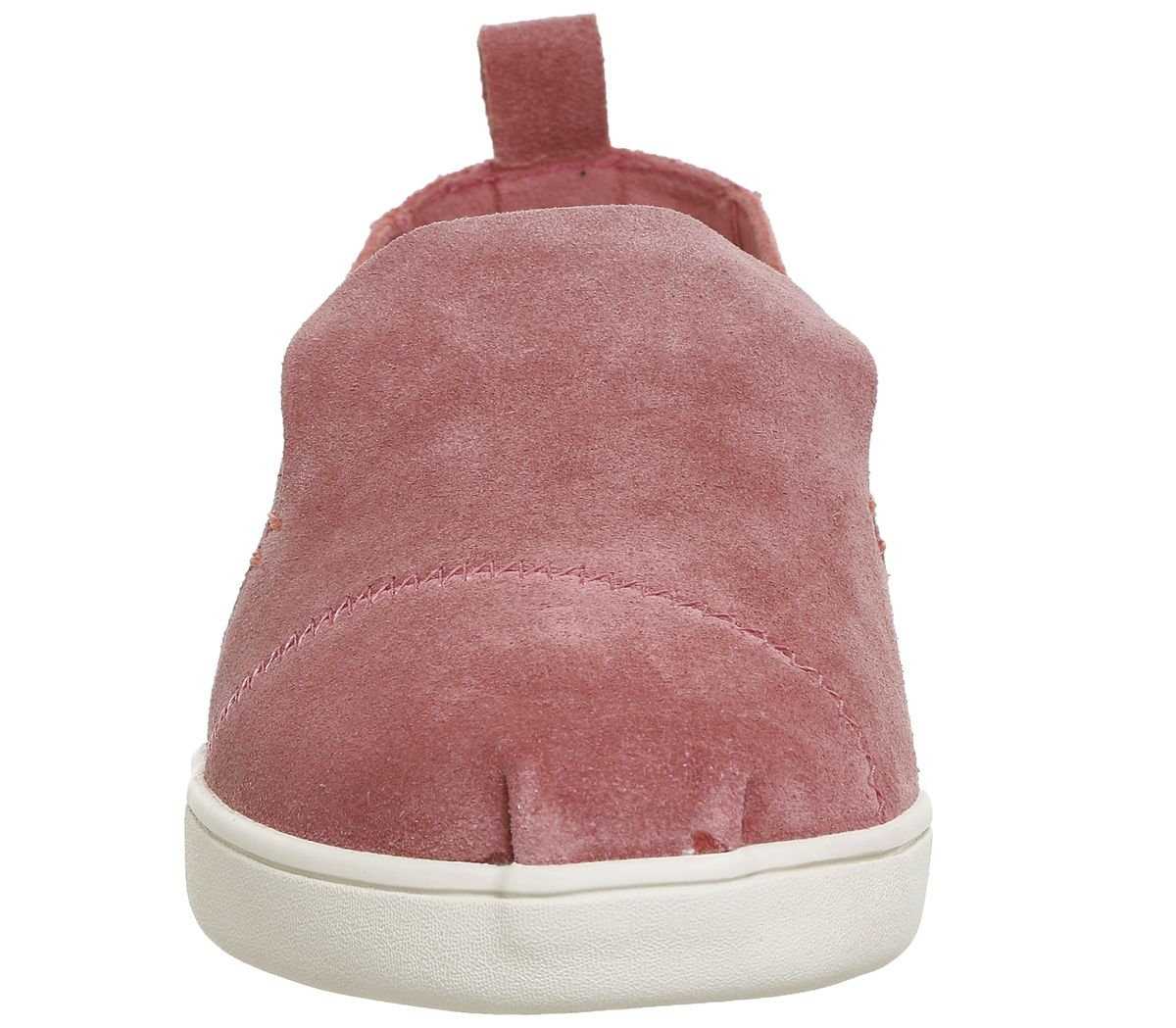 ed015dbcfc8 Toms Deconstructed Alpargata Pink Suede - Flats
