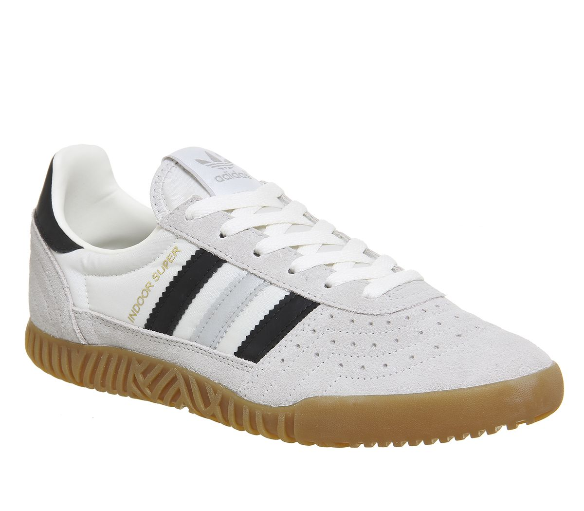 124a8cb87c12b8 adidas Indoor Super Trainers Vintage White Matte Silver - His trainers