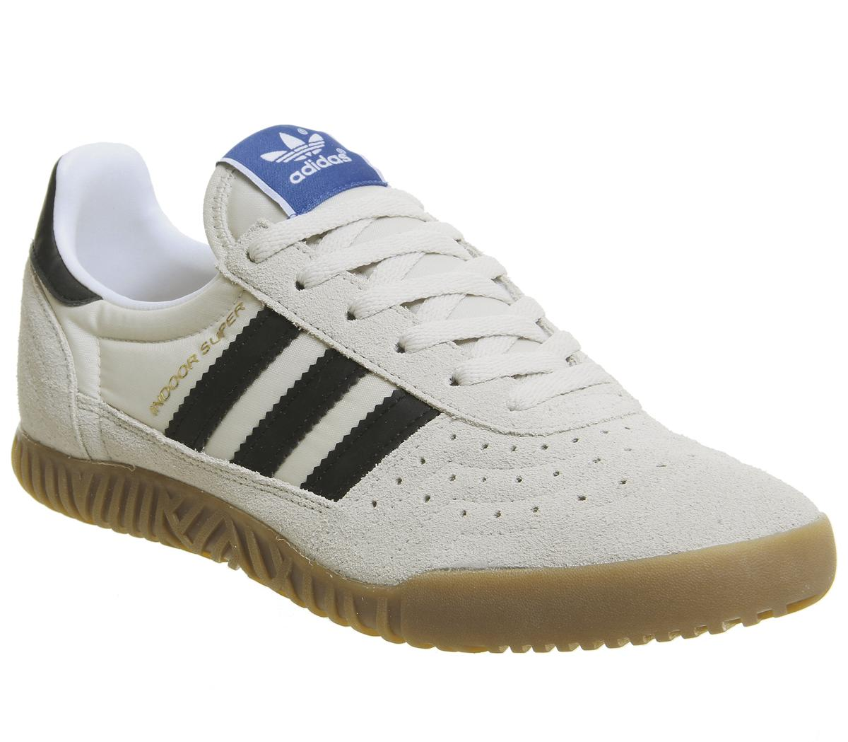 carrera Oblongo petróleo crudo  adidas Indoor Super Trainers Clear Brown Core Black Gum - His trainers