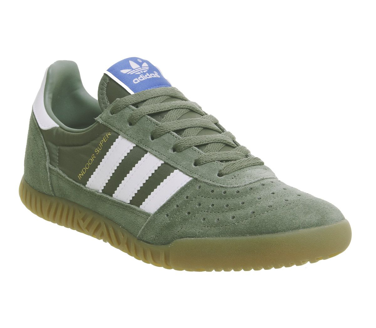 0ef4a511ac3 adidas Indoor Super Trainers Base Green White Gum - His trainers