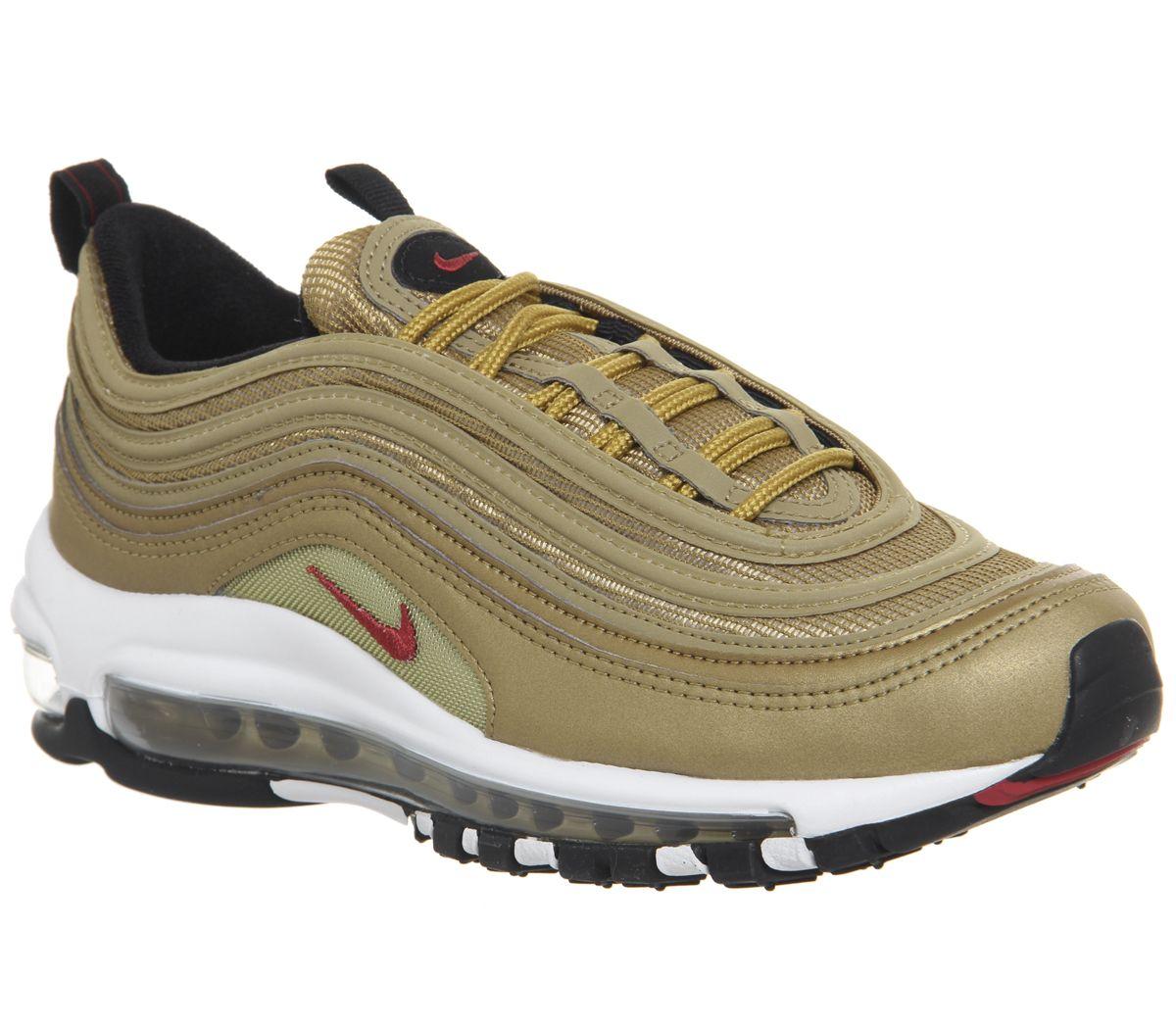 c4139d1497b800 Nike Air Max 97 Gs Trainers Gold - Sneaker damen