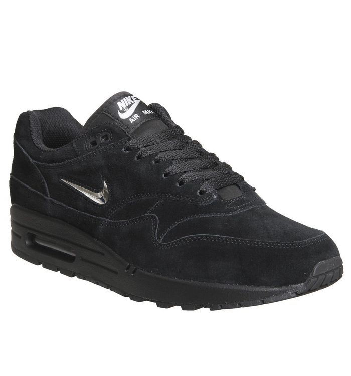 ab91afe966d Nike Air Max 1 Jewel Black Chrome - His trainers