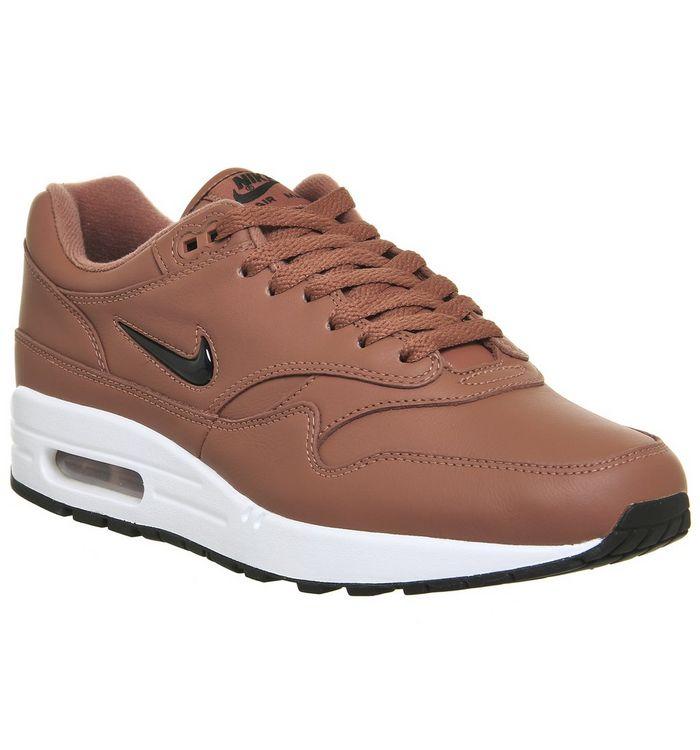dd9e2a5a14 Nike Air Max 1 Jewel Dusty Peach Black - His trainers