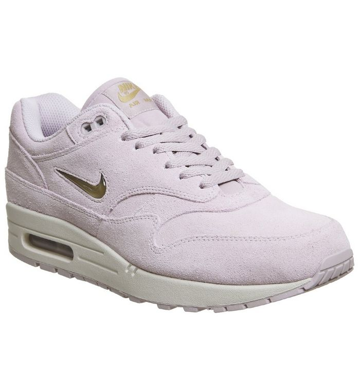 super popular 2aaf3 4990d ... Nike, Air Max 1 Jewel Trainers, Particle Rose Metallic Gold ...