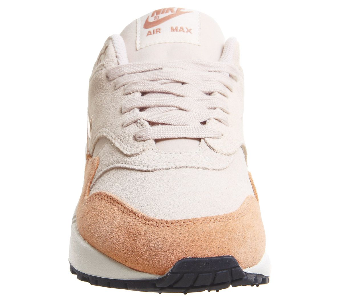 ff4c59b00532f Nike Air Max 1 Jewel Trainers Guava Ice Bronze White F - Hers trainers