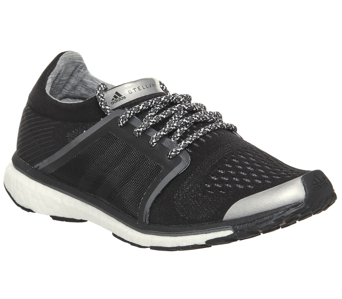 5615016946a01 adidas Stella McCartney Adizero Adios Black Night Grey Tech Silver ...