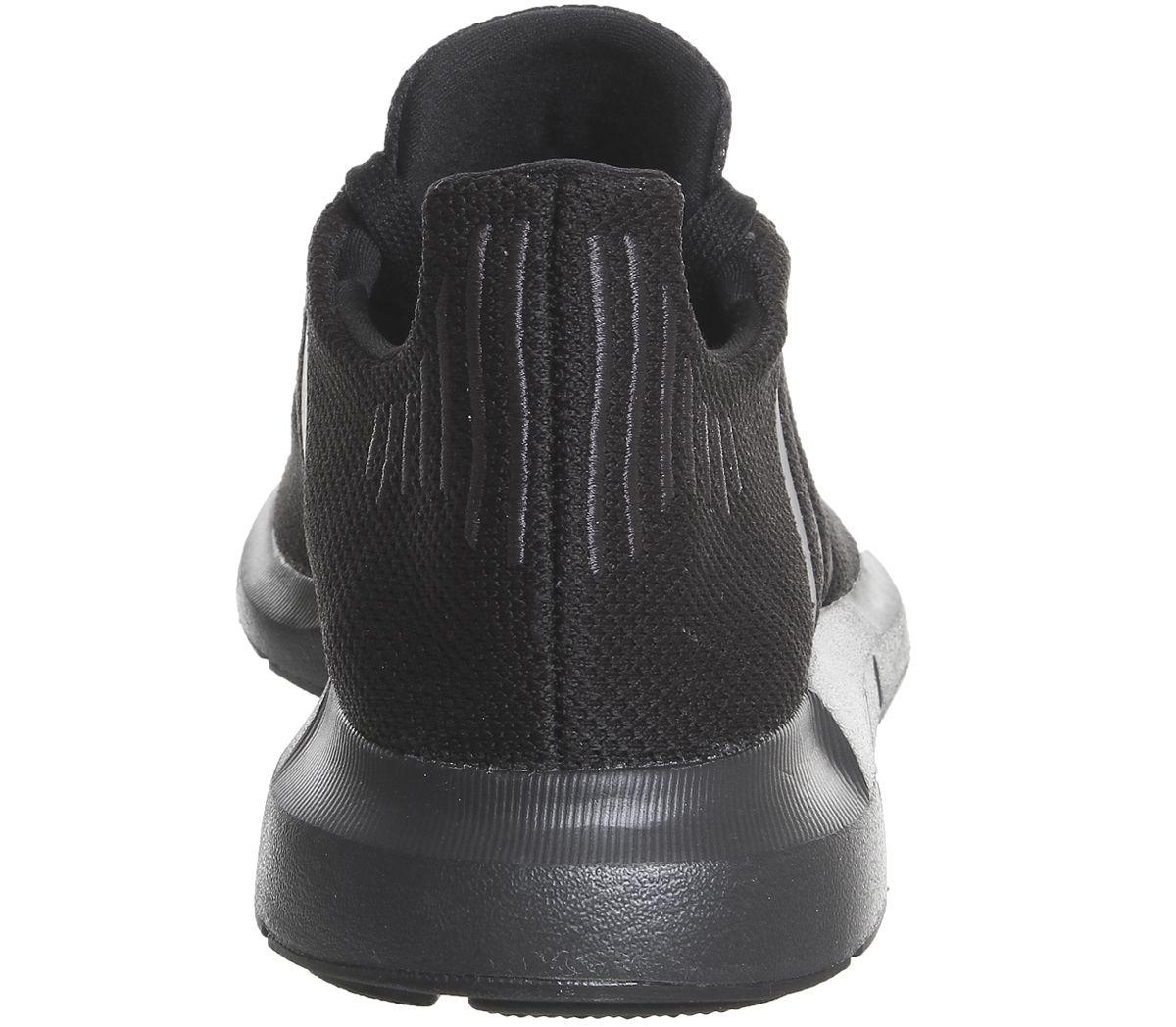 d8d33b2e81204 adidas Swift Run Black Mono - Hers trainers