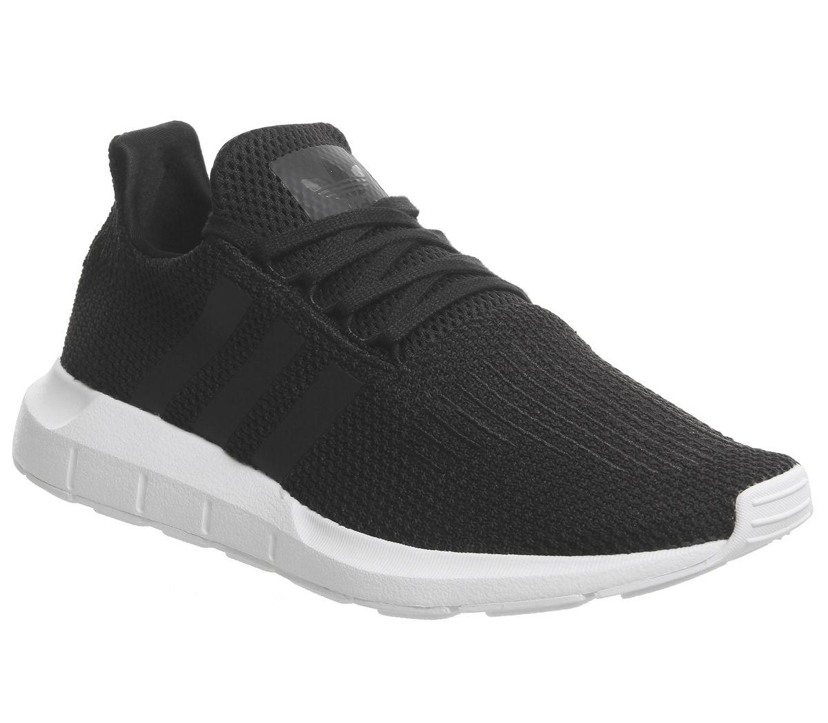 8a1ed9e03 adidas Swift Run Core Black White - Unisex Sports