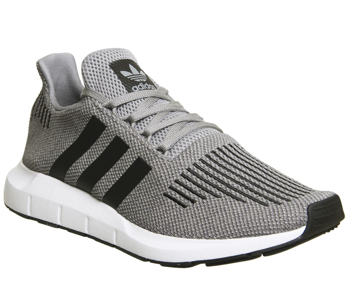 92580612f33ad adidas Swift Run Trainers Grey Core Black - Unisex Sports