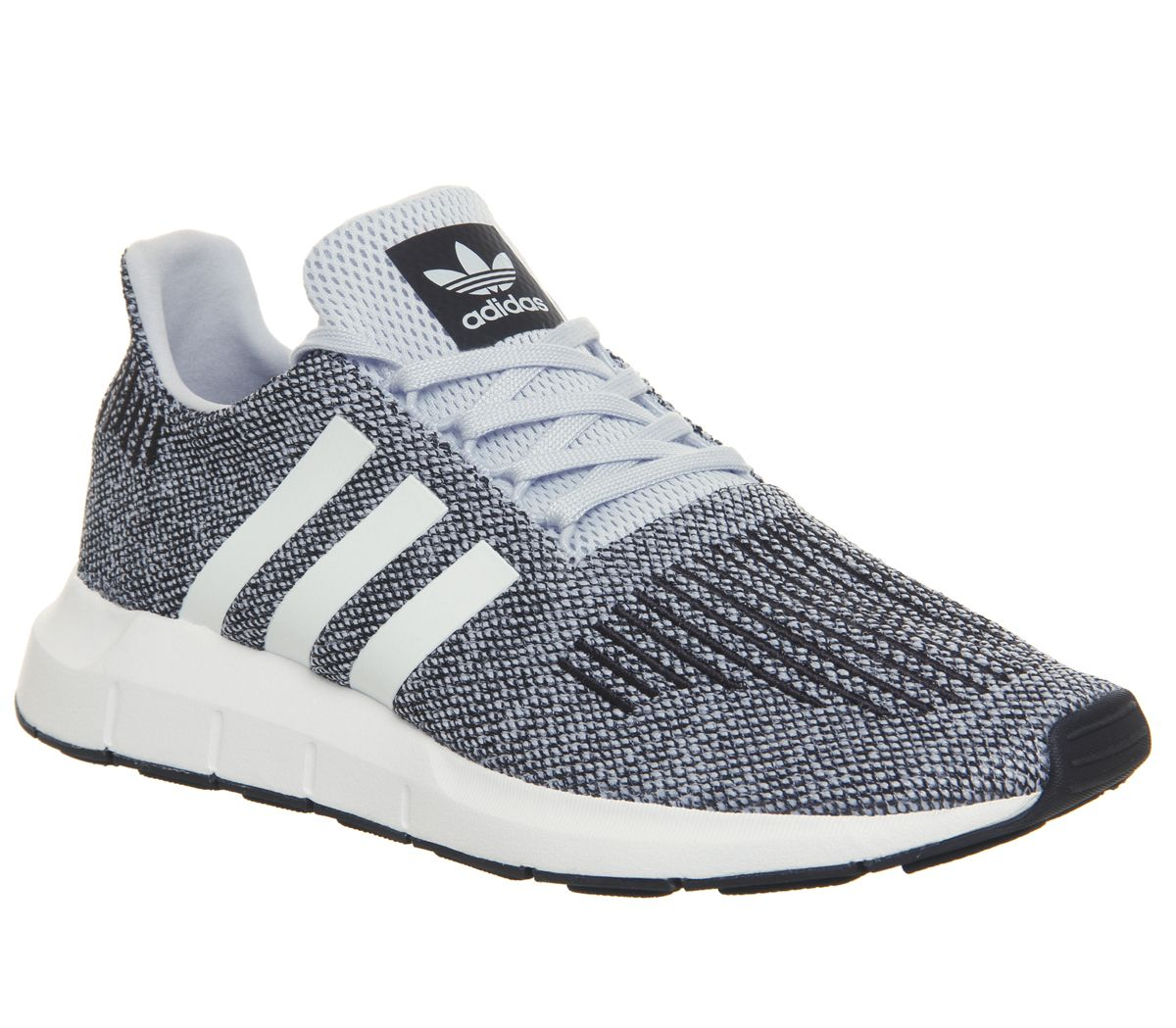 5488a0f03f8db adidas Swift Run Trainers Aero Blue White - Unisex Sports