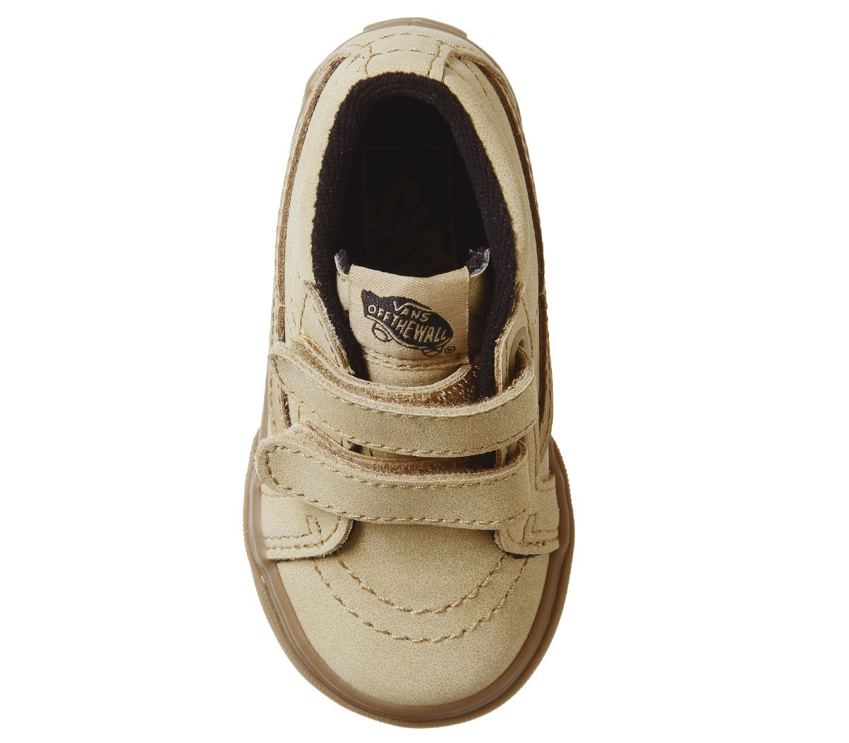 76a18def72b5 Vans Sk8 Mid Reissue Toddler Trainers Vansbuck Apple Cinnamon - Unisex