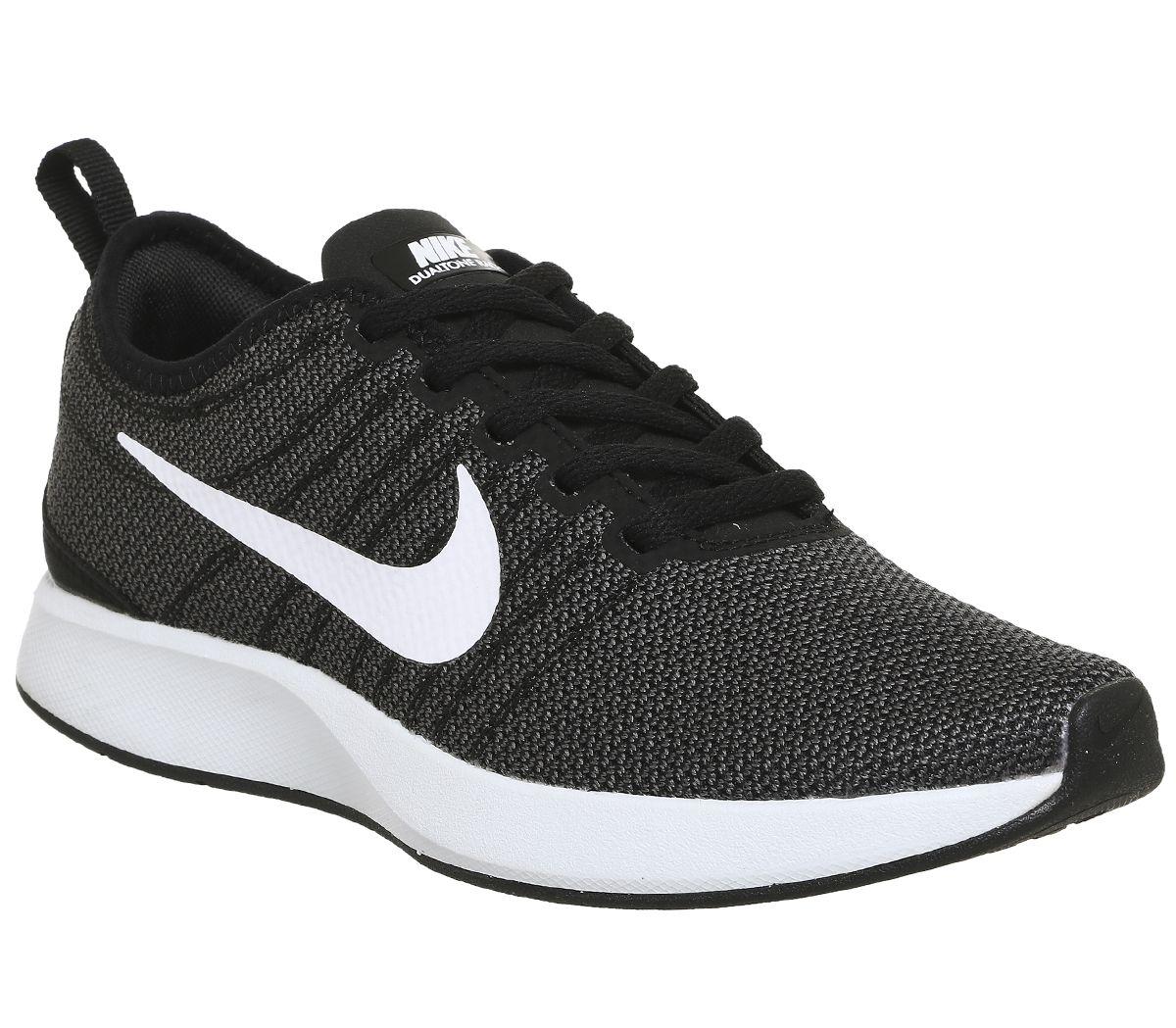 d843f0eca20bf Nike Dualtone Racer Black White - Hers trainers