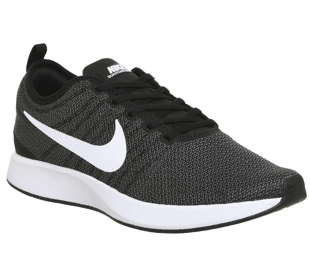9383004078770 Nike Dualtone Racer Black White - Hers trainers