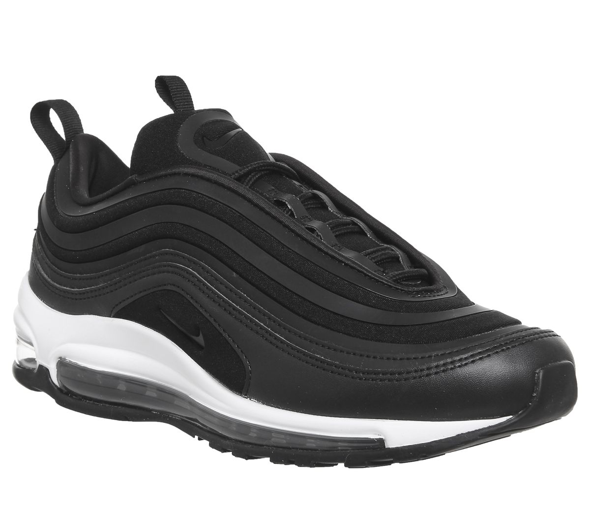 competitive price bf212 3ded5 Nike Air Max 97 Ultra Trainers Black Black White - Unisex Sports