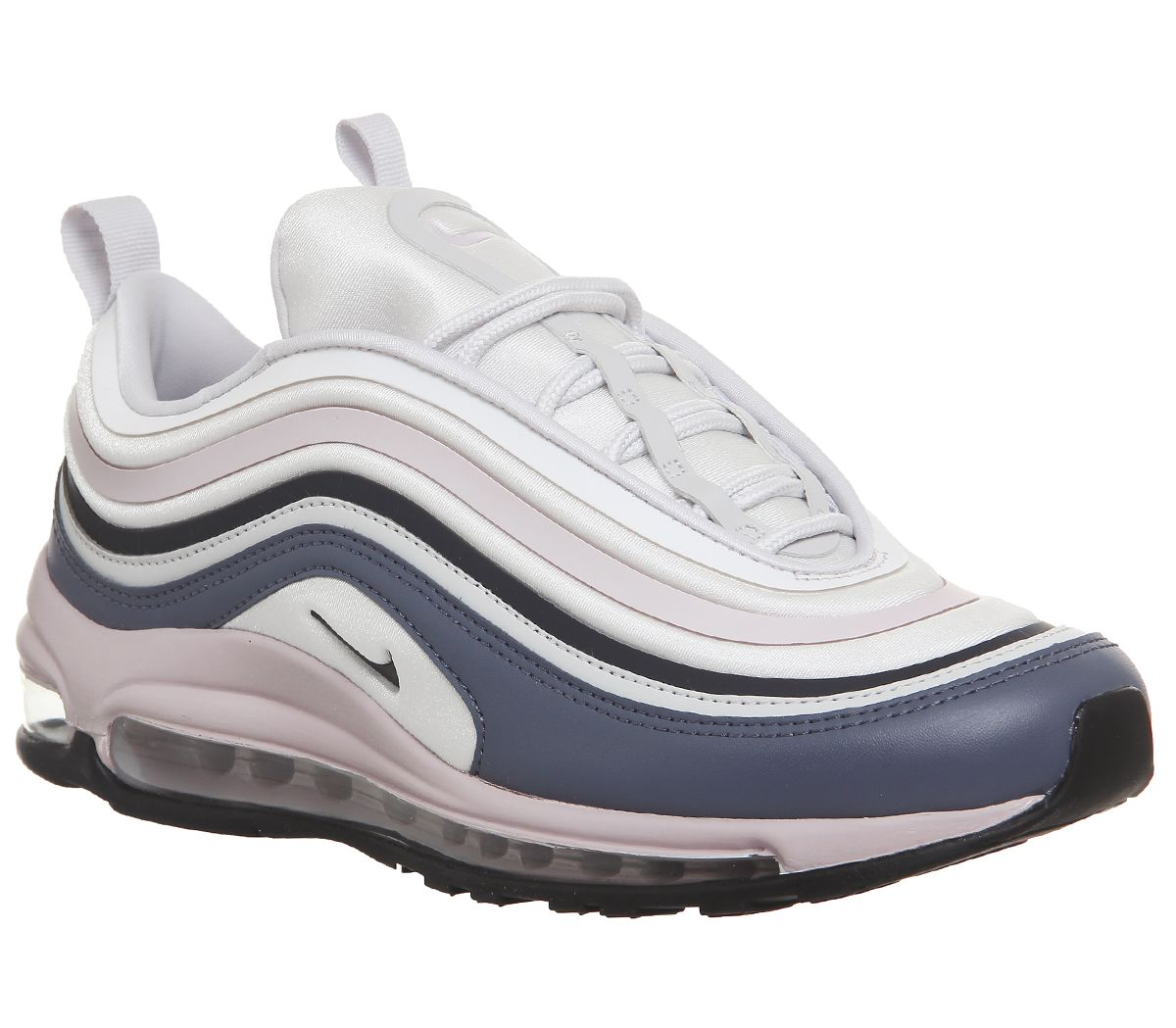9c918ca1f2 Nike Air Max 97 Ul Trainers Vast Grey Obsidian Pink - Hers trainers