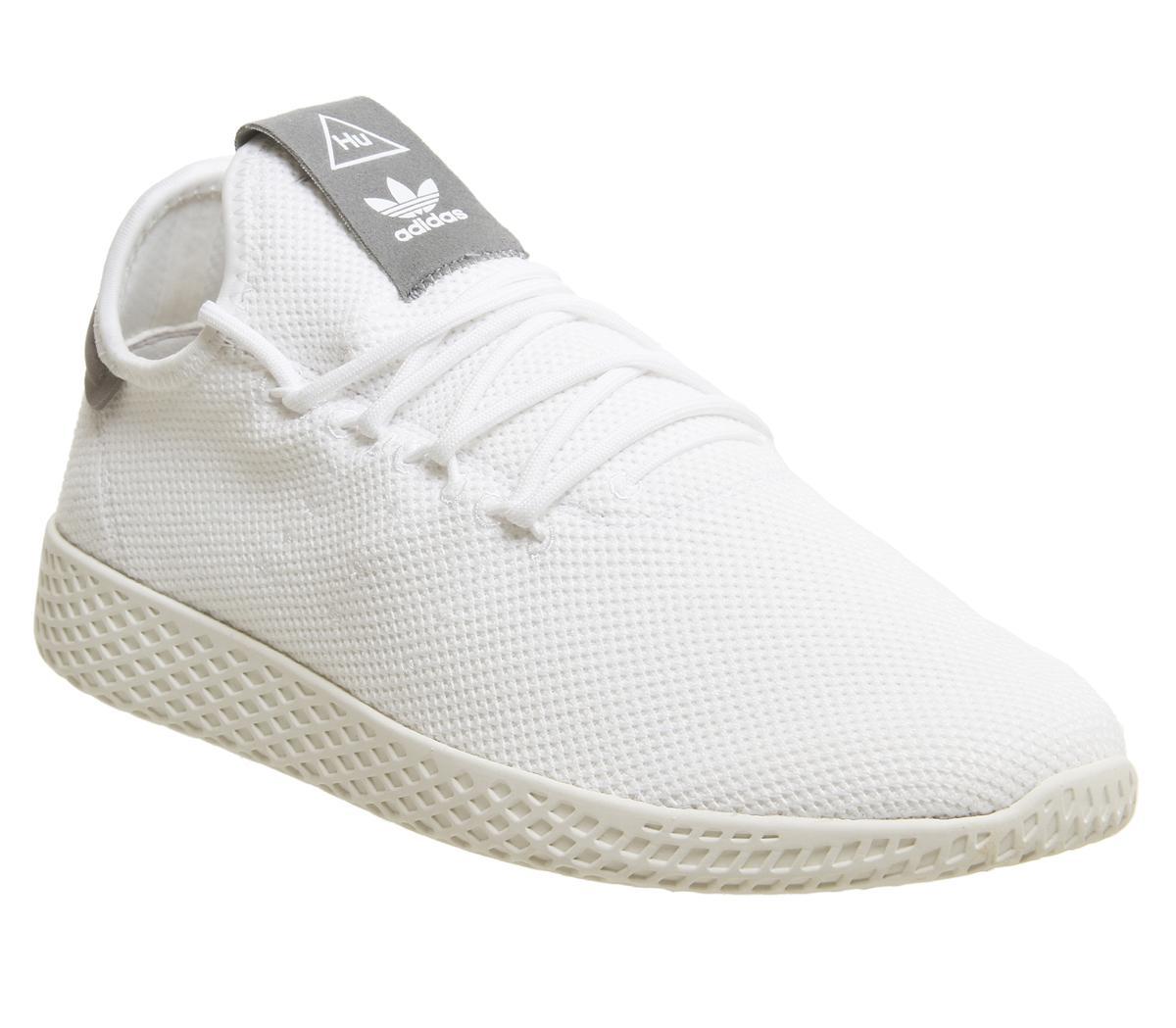 d56273b06aa50 adidas Pw Tennis Trainers White Grey - Unisex Sports