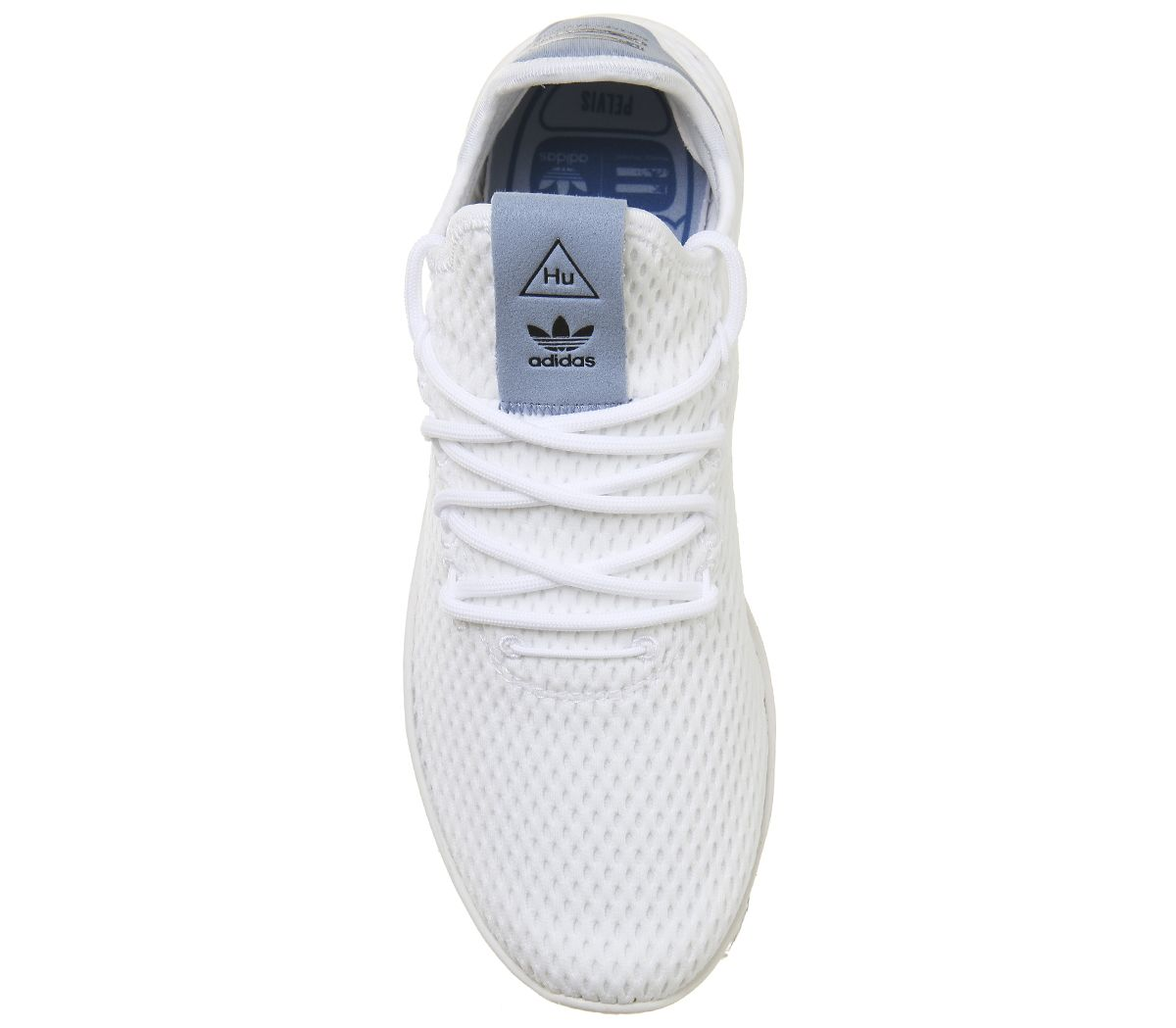 12cccd326f4a1 adidas Pw Tennis Hu White Tactile Blue - Hers trainers