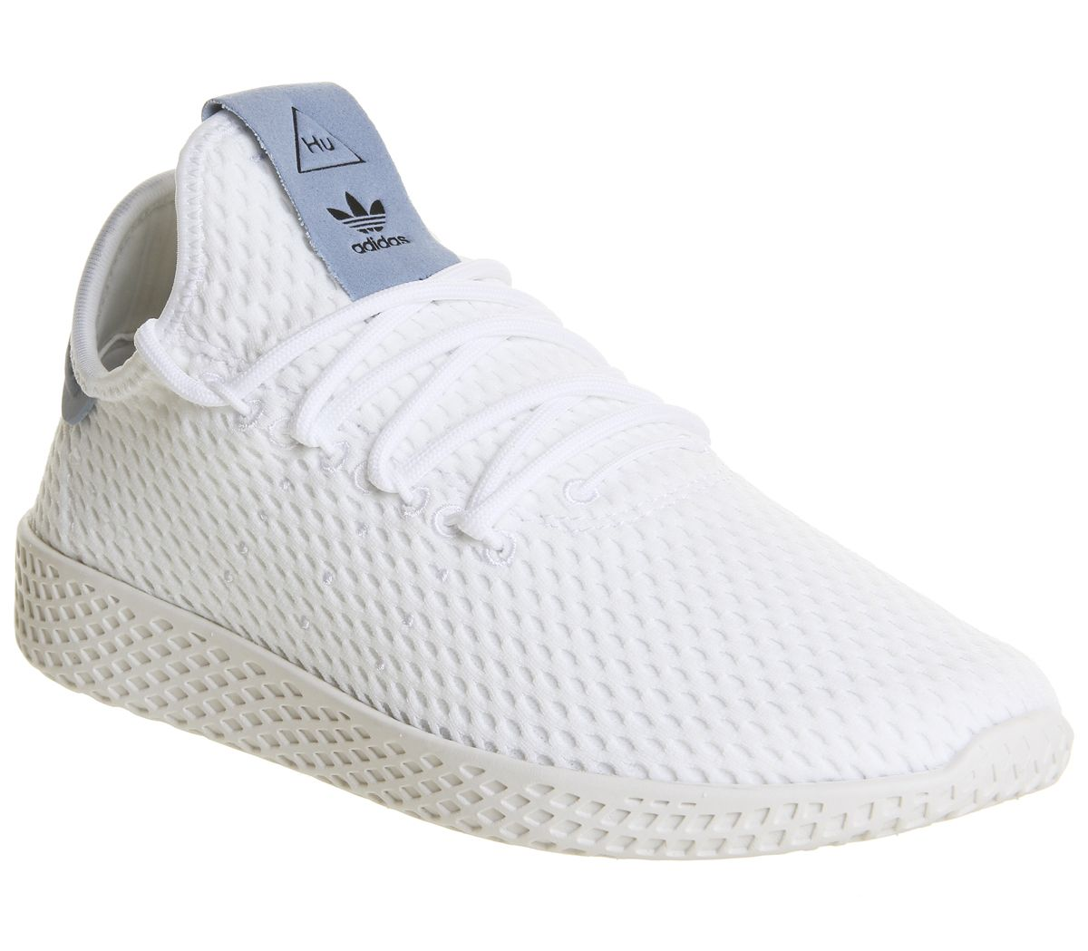 30634d90a adidas Pw Tennis Hu White Tactile Blue - Hers trainers