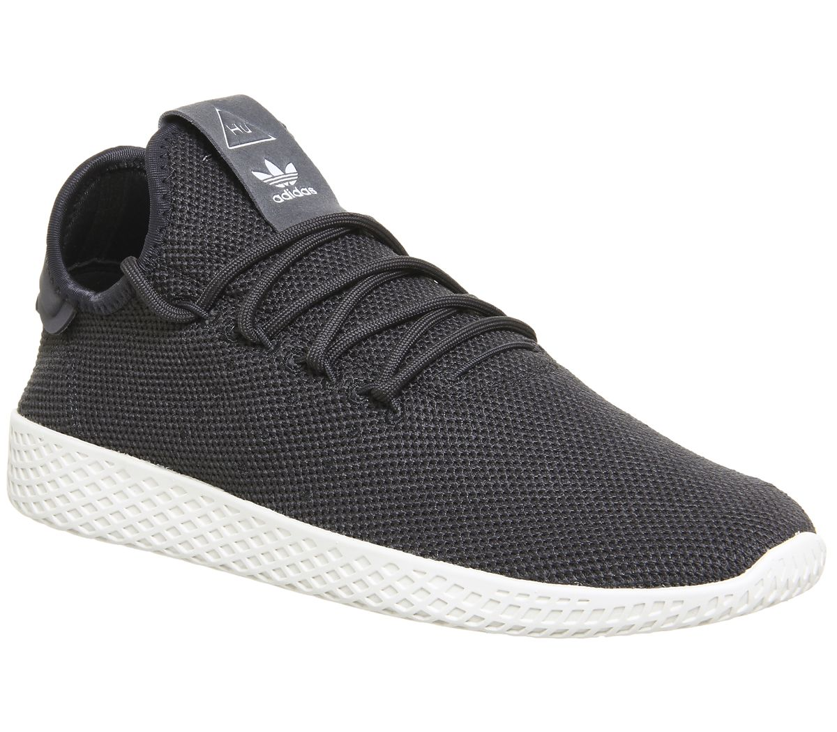 262c1b396997a adidas Pw Tennis Trainers Carbon Chalk White - Unisex Sports