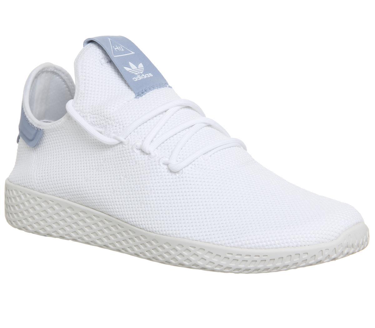 Adidas Sportschuhe Pw Hu Blue White Tennis Unisex HEeD9IYW2