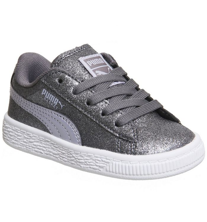 850c506be098 Puma Basket Heart Ps Thistle Glitter Exclusive - Unisex