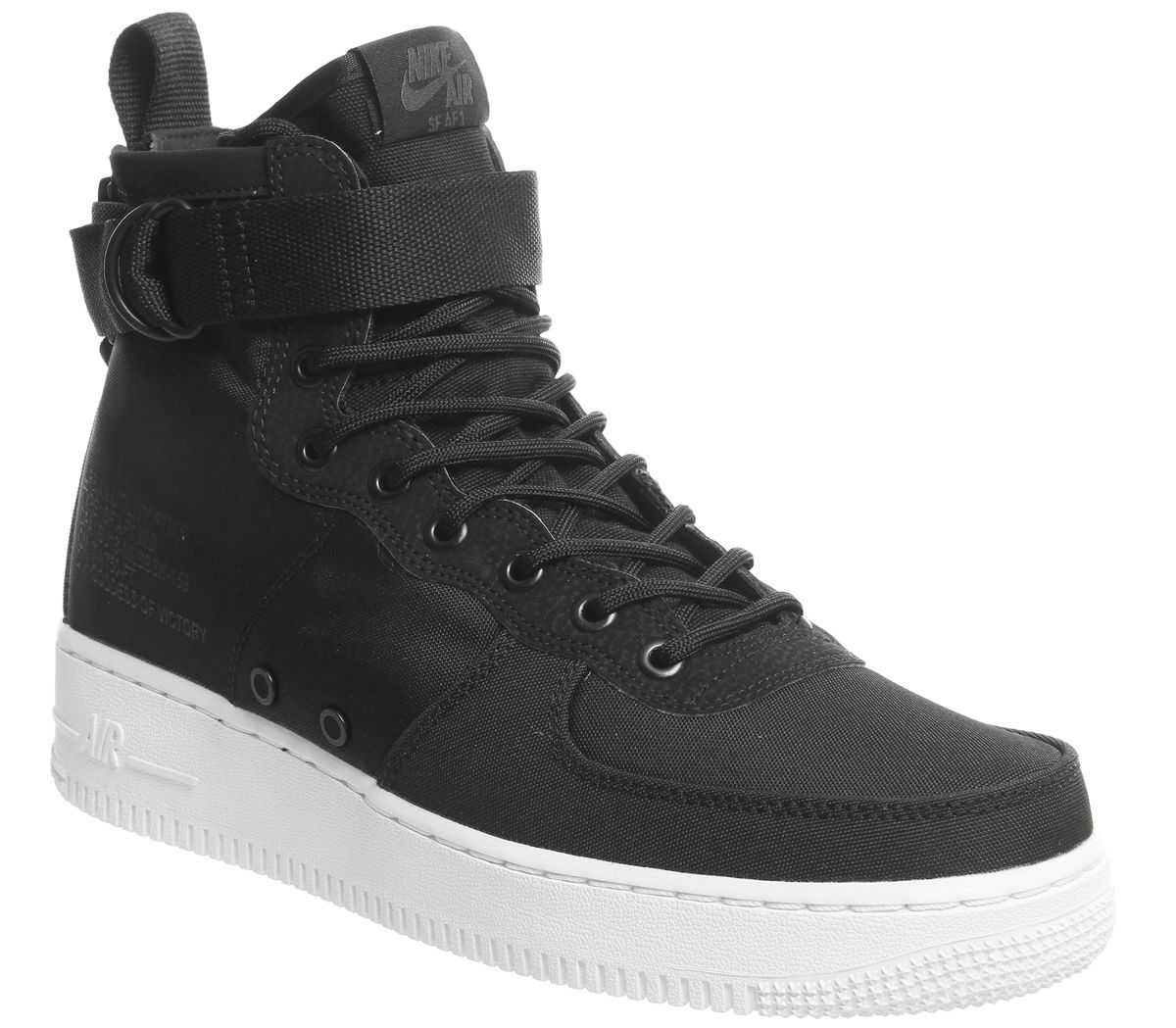 6dcc0aeb Nike Sf Af1 Mid 17 Trainers Black Anthracite White - His trainers