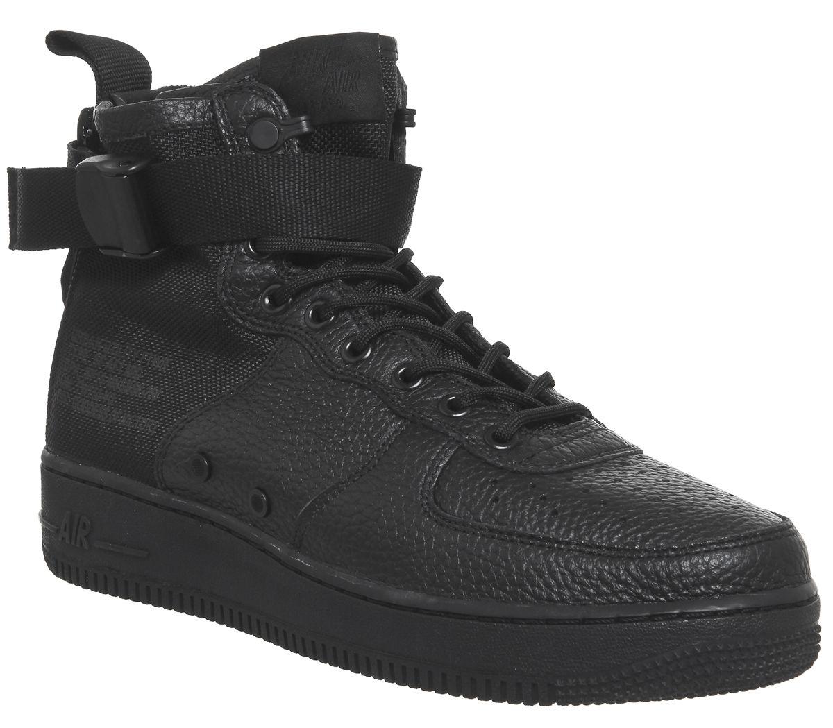 premium selection 6547b 8e2b0 Nike Sf Af1 Mid 17 Black - His trainers