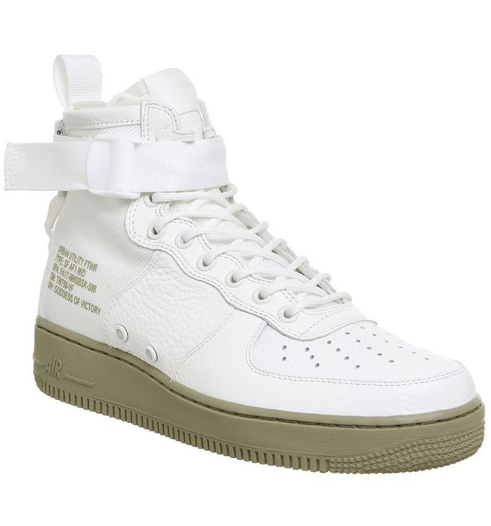2111f3435e Nike Sf Af1 Mid 17 Ivory Neutral Olive - His trainers