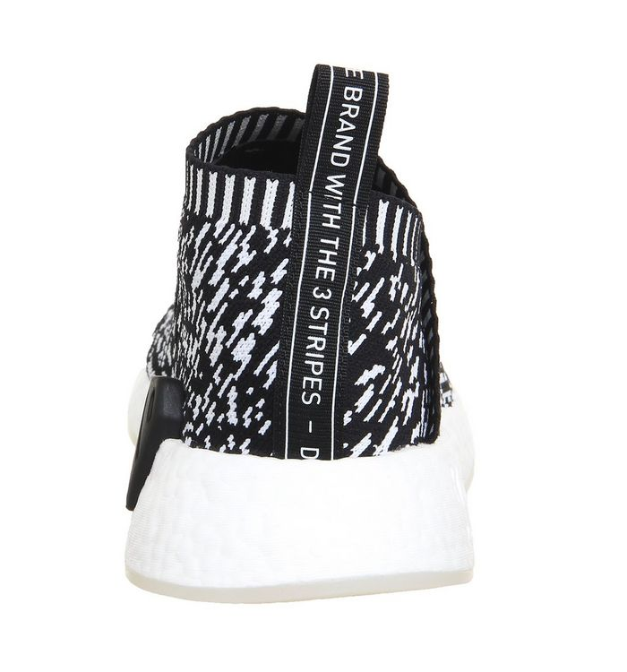 aabdf3321 adidas Nmd CS2 Pk Core Black White Print - His trainers