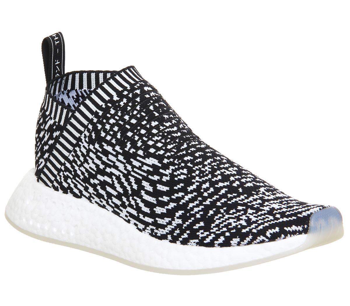adidas Nmd CS2 Pk Core Black White