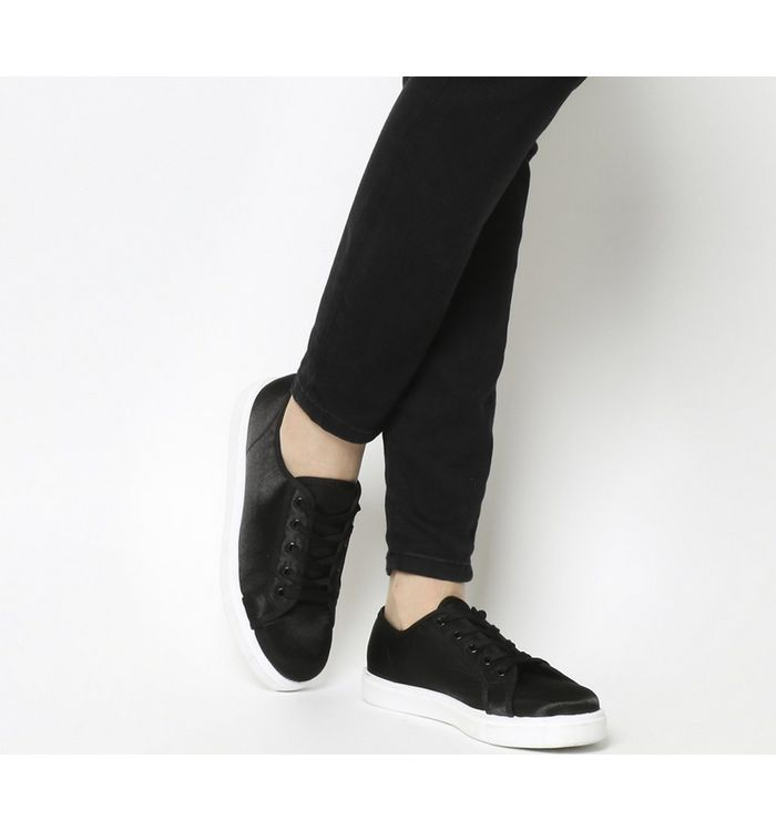 ab77a292305 Vagabond Zoe Lace Sneakers Black Embossed Leather - Flats