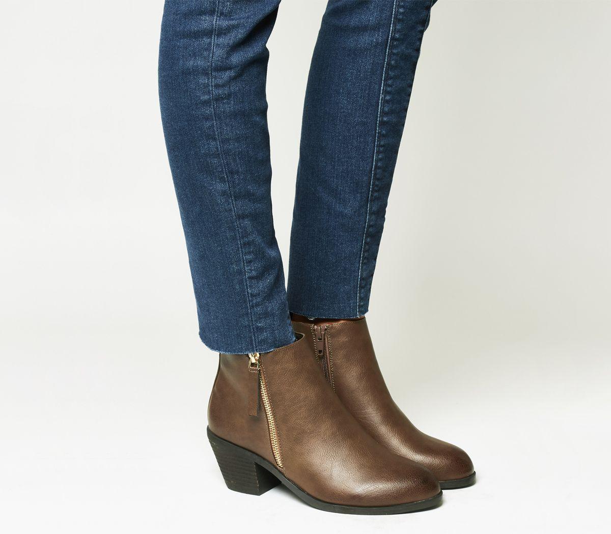 6de03e51600 Anita Side Zip Western Mid Boots