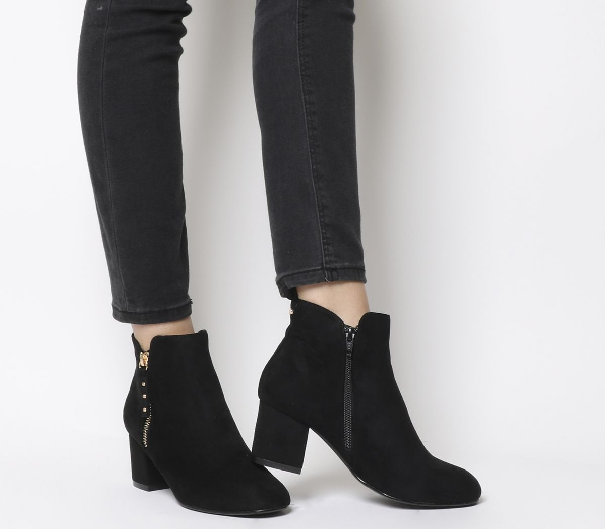 ee5b3b3cf2c Alicia Side Zip Boots