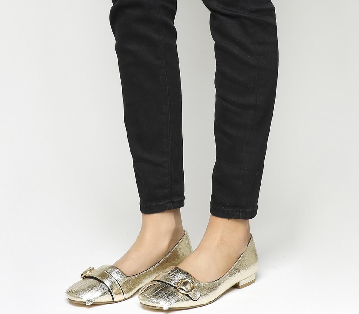 Felicity Fringe Detail Loafers