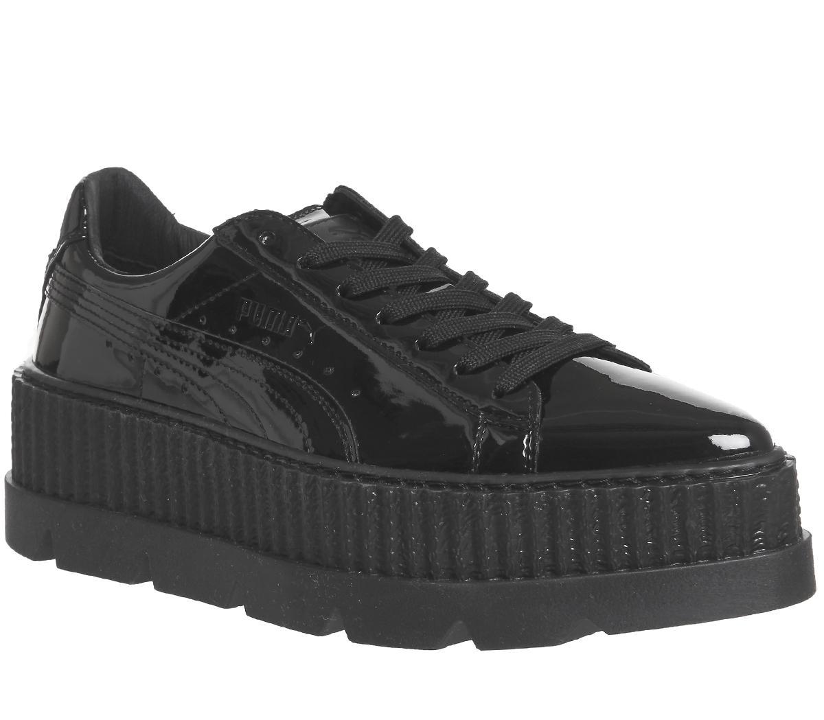 quality design 7411a ac0c6 fenty trainers black